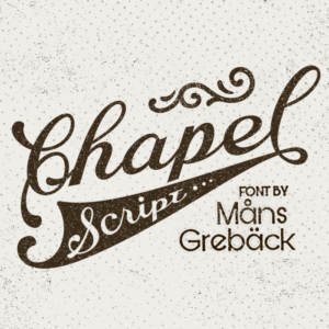 Chapel Script Flag