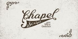 Chapel Script Poster01