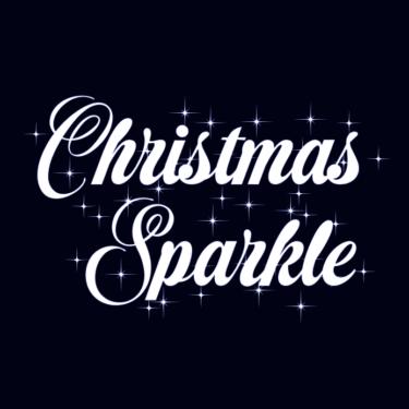 Christmas Sparkle Flag