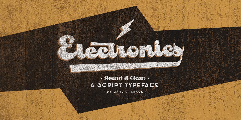 Electronics Poster01