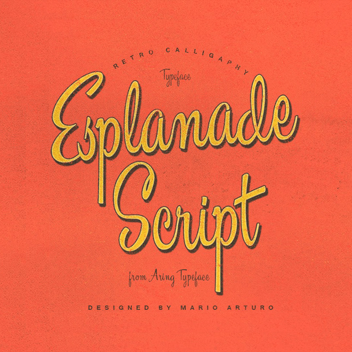 Esplanade Script Flag