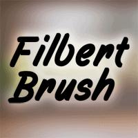 Filbert Brush Flag