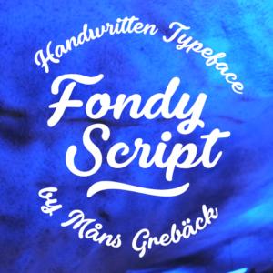 Fondy Script Flag
