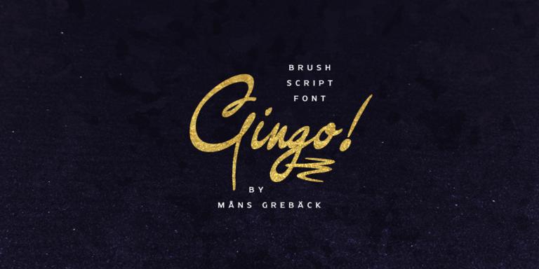 Gingo Poster01