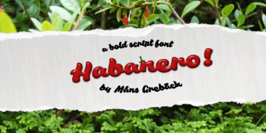 Habanero Poster01