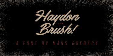 Haydon Brush Poster01