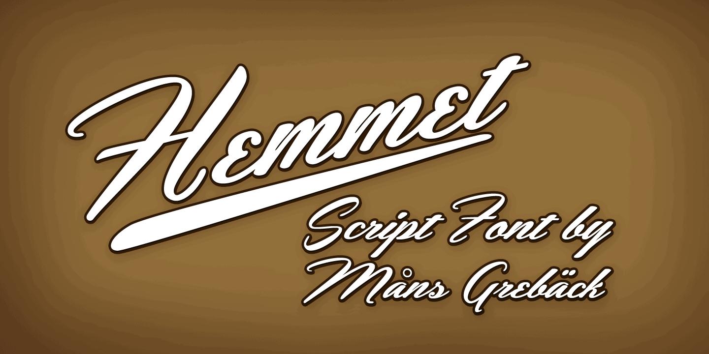 Hemmet Poster