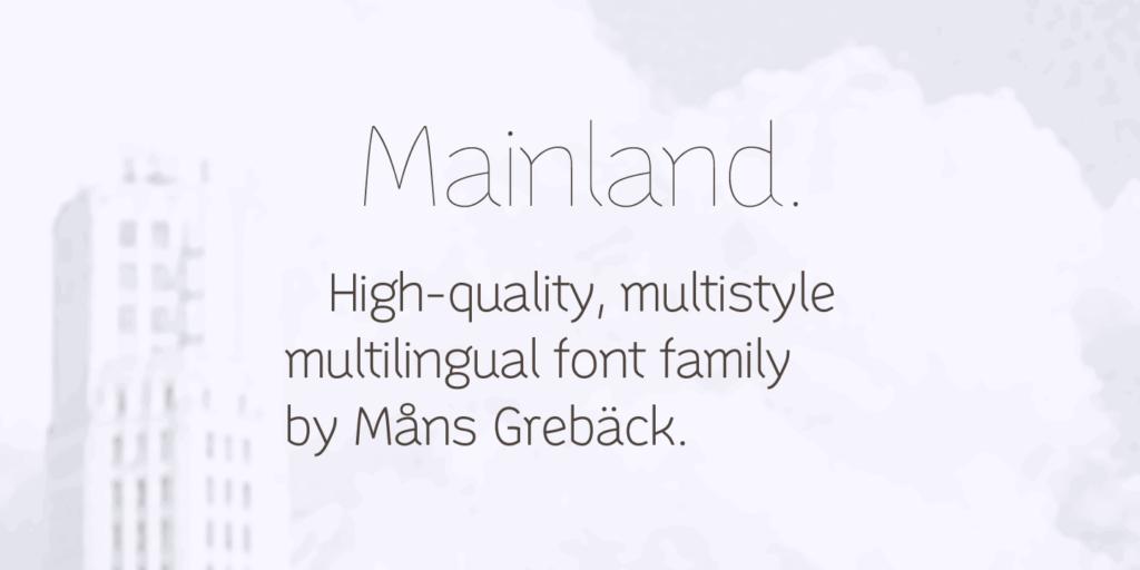 Mainland Poster03