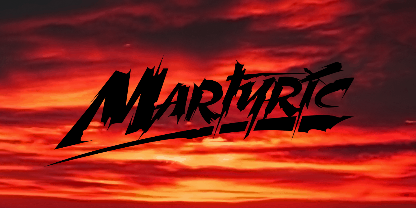 Martyric Poster