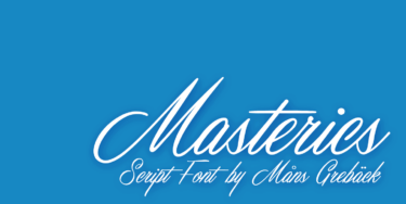 Masterics Poster