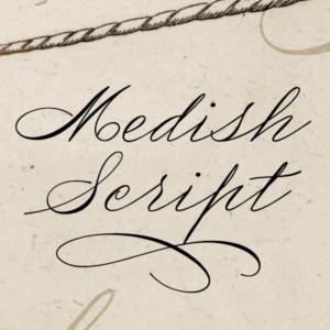 Medish Script Flag
