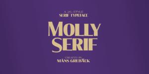 Molly Serif Poster01