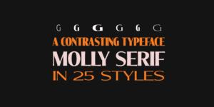 Molly Serif Poster05