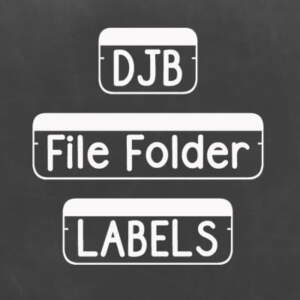 Djbfonts Filefolderstrip