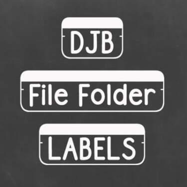 Djbfonts Filefolderstrip