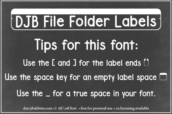 Djbfonts Filefolderstrip3