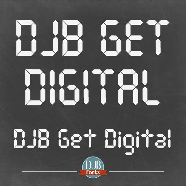 Djbfonts Getdigital