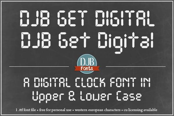 Djbfonts Getdigital2