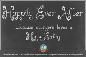 Djbfonts Happilyeverafter2 5