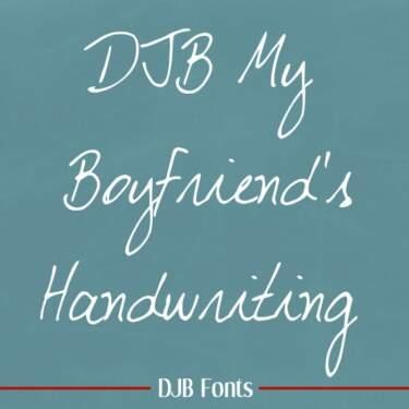 Djbfonts Myboyfriend