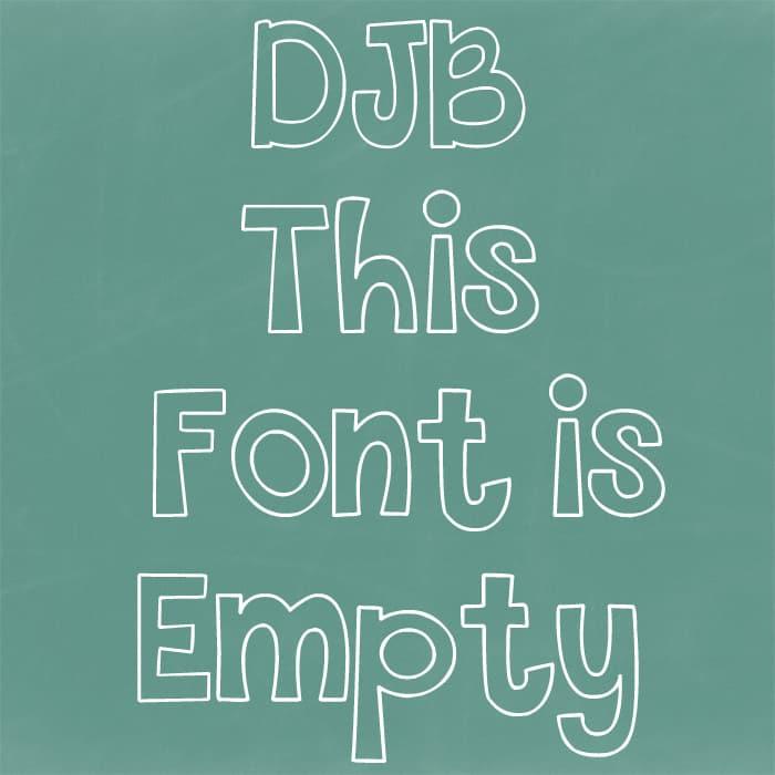 Djbfonts Thisfontisempty2