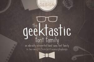 Geektastic Font Family