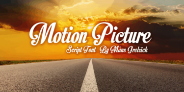 Motion Picture Poster