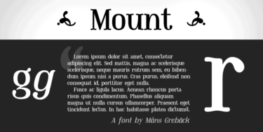 Mount Poster