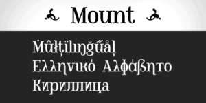 Mount Poster02