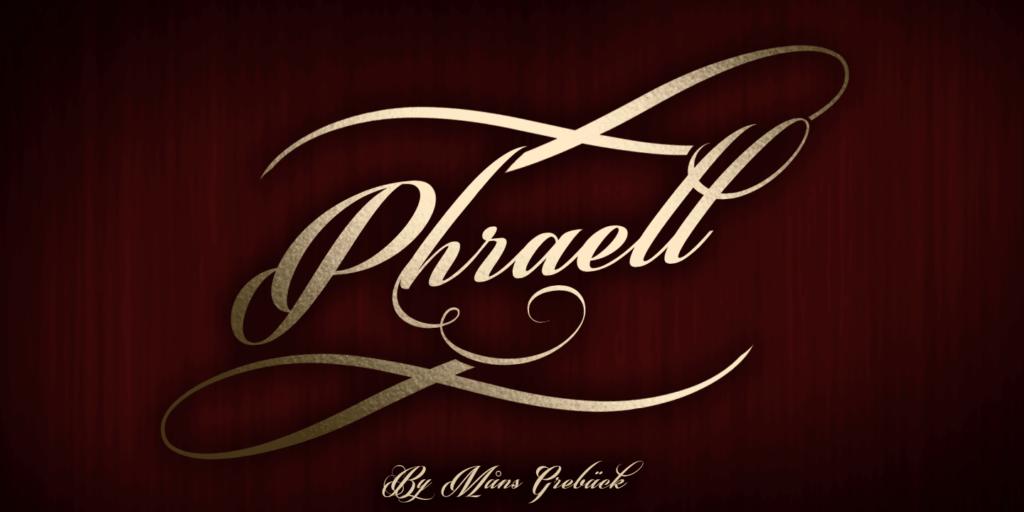 Phraell Poster