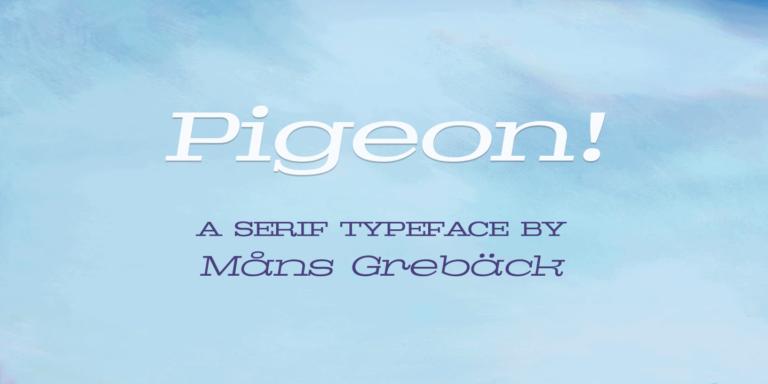 Pigeon Poster01