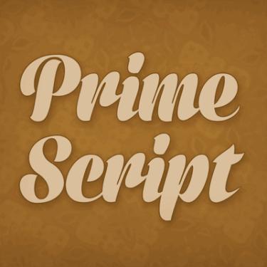 Prime Script Flag