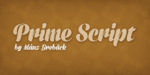 Prime Script Poster